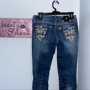 Miss Me Boot Cut Jeans size 27/